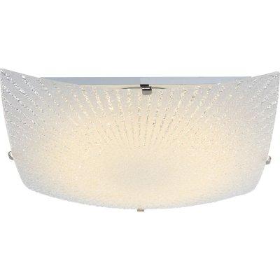 Светильник Globo 40449Квадратные<br>Настенно-потолочные светильники – это универсальные осветительные варианты, которые подходят для вертикального и горизонтального монтажа. В интернет-магазине «Светодом» Вы можете приобрести подобные модели по выгодной стоимости. В нашем каталоге представлены как бюджетные варианты, так и эксклюзивные изделия от производителей, которые уже давно заслужили доверие дизайнеров и простых покупателей.  Настенно-потолочный светильник Globo 40449 станет прекрасным дополнением к основному освещению. Благодаря качественному исполнению и применению современных технологий при производстве эта модель будет радовать Вас своим привлекательным внешним видом долгое время.  Приобрести настенно-потолочный светильник Globo 40449 можно, находясь в любой точке России.<br><br>S освещ. до, м2: 5<br>Тип лампы: LED<br>Тип цоколя: LED<br>Цвет арматуры: серебристый<br>Количество ламп: 1<br>Диаметр, мм мм: 300<br>Высота, мм: 85<br>MAX мощность ламп, Вт: 12