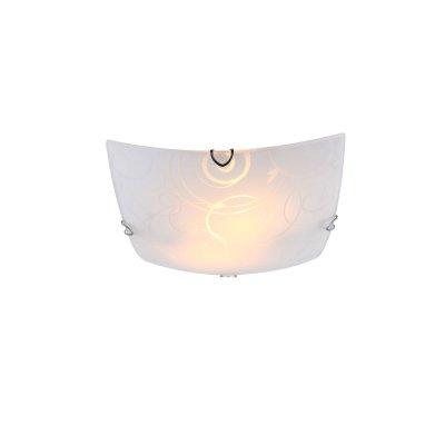 Светильник Globo 40491-2Квадратные<br>Настенно-потолочные светильники – это универсальные осветительные варианты, которые подходят для вертикального и горизонтального монтажа. В интернет-магазине «Светодом» Вы можете приобрести подобные модели по выгодной стоимости. В нашем каталоге представлены как бюджетные варианты, так и эксклюзивные изделия от производителей, которые уже давно заслужили доверие дизайнеров и простых покупателей.  Настенно-потолочный светильник Globo 40491-2 станет прекрасным дополнением к основному освещению. Благодаря качественному исполнению и применению современных технологий при производстве эта модель будет радовать Вас своим привлекательным внешним видом долгое время. Приобрести настенно-потолочный светильник Globo 40491-2 можно, находясь в любой точке России.<br><br>S освещ. до, м2: 6<br>Тип цоколя: E27<br>Количество ламп: 2<br>MAX мощность ламп, Вт: 60<br>Диаметр, мм мм: 300<br>Высота, мм: 90<br>Цвет арматуры: серебристый хром