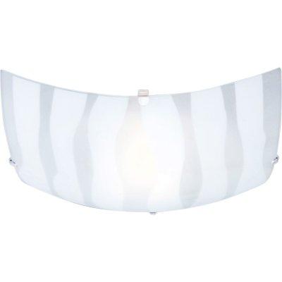 Светильник полосатый Globo 40981 CedricКвадратные<br>Настенно-потолочные светильники – это универсальные осветительные варианты, которые подходят для вертикального и горизонтального монтажа. В интернет-магазине «Светодом» Вы можете приобрести подобные модели по выгодной стоимости. В нашем каталоге представлены как бюджетные варианты, так и эксклюзивные изделия от производителей, которые уже давно заслужили доверие дизайнеров и простых покупателей.  Настенно-потолочный светильник Globo 40981 станет прекрасным дополнением к основному освещению. Благодаря качественному исполнению и применению современных технологий при производстве эта модель будет радовать Вас своим привлекательным внешним видом долгое время.  Приобрести настенно-потолочный светильник Globo 40981 можно, находясь в любой точке России.<br><br>S освещ. до, м2: 4<br>Тип лампы: накаливания / энергосбережения / LED-светодиодная<br>Тип цоколя: E27 ILLU<br>Количество ламп: 1<br>Ширина, мм: 250<br>MAX мощность ламп, Вт: 60<br>Длина, мм: 250<br>Расстояние от стены, мм: 65<br>Высота, мм: 85<br>Оттенок (цвет): белый<br>Цвет арматуры: серебристый
