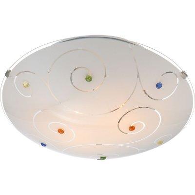 Светильник Globo 40983-2 FulvaКруглые<br>Настенно-потолочные светильники – это универсальные осветительные варианты, которые подходят для вертикального и горизонтального монтажа. В интернет-магазине «Светодом» Вы можете приобрести подобные модели по выгодной стоимости. В нашем каталоге представлены как бюджетные варианты, так и эксклюзивные изделия от производителей, которые уже давно заслужили доверие дизайнеров и простых покупателей. <br>Настенно-потолочный светильник Globo 40983-2 станет прекрасным дополнением к основному освещению. Благодаря качественному исполнению и применению современных технологий при производстве эта модель будет радовать Вас своим привлекательным внешним видом долгое время. <br>Приобрести настенно-потолочный светильник Globo 40983-2 можно, находясь в любой точке России.<br><br>S освещ. до, м2: 6<br>Цветовая t, К: 2400-2800<br>Тип лампы: накаливания / энергосберегающая / светодиодная<br>Тип цоколя: E27 ILLU<br>Цвет арматуры: серый<br>Количество ламп: 2<br>Диаметр, мм мм: 300<br>Высота, мм: 85<br>Поверхность арматуры: матовый<br>MAX мощность ламп, Вт: 60<br>Общая мощность, Вт: 120