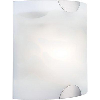 Светильник Globo 4105 RiccioneКвадратные<br>Настенно потолочный светильник Globo (Глобо) 4105 подходит как для установки в вертикальном положении - на стены, так и для установки в горизонтальном - на потолок. Для установки настенно потолочных светильников на натяжной потолок необходимо использовать светодиодные лампы LED, которые экономнее ламп Ильича (накаливания) в 10 раз, выделяют мало тепла и не дадут расплавиться Вашему потолку.<br><br>S освещ. до, м2: 2<br>Тип лампы: накаливания / энергосбережения / LED-светодиодная<br>Тип цоколя: E14<br>Количество ламп: 1<br>Ширина, мм: 200<br>MAX мощность ламп, Вт: 40<br>Расстояние от стены, мм: 200<br>Высота, мм: 200<br>Цвет арматуры: серебристый