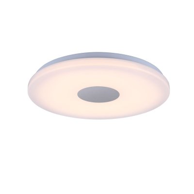 Светильник Globo 41330Круглые<br><br><br>Тип товара: Светильник настенно-потолочный<br>Скидка, %: 21<br>Тип цоколя: LED<br>Количество ламп: 1<br>MAX мощность ламп, Вт: 18<br>Диаметр, мм мм: 375<br>Высота, мм: 52<br>Цвет арматуры: серебристый