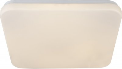 Светильник настенно-потолочный Globo 41626-18Ожидается<br><br><br>Тип цоколя: LED<br>Ширина, мм: 327<br>Высота, мм: 327<br>Цвет арматуры: белый