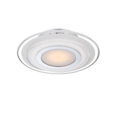 Светильник Globo 41683-3 AmosКруглые<br>Настенно-потолочные светильники – это универсальные осветительные варианты, которые подходят для вертикального и горизонтального монтажа. В интернет-магазине «Светодом» Вы можете приобрести подобные модели по выгодной стоимости. В нашем каталоге представлены как бюджетные варианты, так и эксклюзивные изделия от производителей, которые уже давно заслужили доверие дизайнеров и простых покупателей.  Настенно-потолочный светильник Globo 41683-3 станет прекрасным дополнением к основному освещению. Благодаря качественному исполнению и применению современных технологий при производстве эта модель будет радовать Вас своим привлекательным внешним видом долгое время.  Приобрести настенно-потолочный светильник Globo 41683-3 можно, находясь в любой точке России.<br><br>S освещ. до, м2: 2<br>Тип лампы: LED - светодиодная<br>Тип цоколя: LED<br>Цвет арматуры: серебристый<br>Количество ламп: 1<br>Диаметр, мм мм: 320<br>Высота, мм: 65<br>MAX мощность ламп, Вт: 9