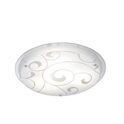 Светильник на 3 лампы Globo 48060-3 KristjanaКруглые<br>Настенно потолочный светильник Globo (Глобо) 48060-3 подходит как для установки в вертикальном положении - на стены, так и для установки в горизонтальном - на потолок. Для установки настенно потолочных светильников на натяжной потолок необходимо использовать светодиодные лампы LED, которые экономнее ламп Ильича (накаливания) в 10 раз, выделяют мало тепла и не дадут расплавиться Вашему потолку.<br><br>S освещ. до, м2: 12<br>Тип лампы: накаливания / энергосбережения / LED-светодиодная<br>Тип цоколя: E27 ILLU<br>Цвет арматуры: серебристый<br>Количество ламп: 3<br>Диаметр, мм мм: 420<br>Высота, мм: 85<br>MAX мощность ламп, Вт: 60