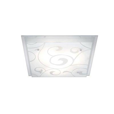 Светильник Globo 48062-3 DiaКвадратные<br>Настенно потолочный светильник Globo (Глобо) 48062-3 подходит как для установки в вертикальном положении - на стены, так и для установки в горизонтальном - на потолок. Для установки настенно потолочных светильников на натяжной потолок необходимо использовать светодиодные лампы LED, которые экономнее ламп Ильича (накаливания) в 10 раз, выделяют мало тепла и не дадут расплавиться Вашему потолку.<br><br>S освещ. до, м2: 12<br>Тип лампы: накаливания / энергосбережения / LED-светодиодная<br>Тип цоколя: E27 ILLU<br>Количество ламп: 3<br>Ширина, мм: 420<br>MAX мощность ламп, Вт: 60<br>Длина, мм: 420<br>Высота, мм: 85<br>Цвет арматуры: серебристый