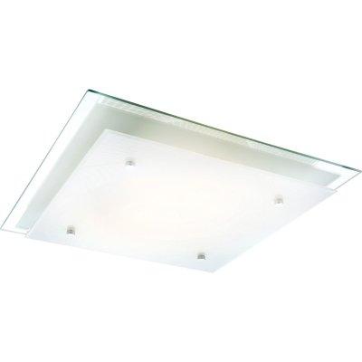 Светильник Globo 48069-2 SonarКвадратные<br>Настенно-потолочные светильники – это универсальные осветительные варианты, которые подходят для вертикального и горизонтального монтажа. В интернет-магазине «Светодом» Вы можете приобрести подобные модели по выгодной стоимости. В нашем каталоге представлены как бюджетные варианты, так и эксклюзивные изделия от производителей, которые уже давно заслужили доверие дизайнеров и простых покупателей. <br>Настенно-потолочный светильник Globo 48069-2 станет прекрасным дополнением к основному освещению. Благодаря качественному исполнению и применению современных технологий при производстве эта модель будет радовать Вас своим привлекательным внешним видом долгое время. <br>Приобрести настенно-потолочный светильник Globo 48069-2 можно, находясь в любой точке России.<br><br>S освещ. до, м2: 8<br>Тип лампы: накаливания / энергосбережения / LED-светодиодная<br>Тип цоколя: E27 ILLU<br>Цвет арматуры: серебристый<br>Количество ламп: 2<br>Ширина, мм: 335<br>Длина, мм: 335<br>Расстояние от стены, мм: 80<br>Высота, мм: 80<br>MAX мощность ламп, Вт: 60