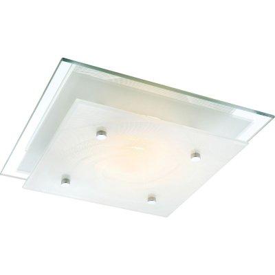 Светильник квадратный Globo 48069 SonarКвадратные<br>Настенно-потолочные светильники – это универсальные осветительные варианты, которые подходят для вертикального и горизонтального монтажа. В интернет-магазине «Светодом» Вы можете приобрести подобные модели по выгодной стоимости. В нашем каталоге представлены как бюджетные варианты, так и эксклюзивные изделия от производителей, которые уже давно заслужили доверие дизайнеров и простых покупателей.  Настенно-потолочный светильник Globo 48069 станет прекрасным дополнением к основному освещению. Благодаря качественному исполнению и применению современных технологий при производстве эта модель будет радовать Вас своим привлекательным внешним видом долгое время.  Приобрести настенно-потолочный светильник Globo 48069 можно, находясь в любой точке России.<br><br>S освещ. до, м2: 4<br>Тип лампы: накаливания / энергосбережения / LED-светодиодная<br>Тип цоколя: E27 ILLU<br>Цвет арматуры: серебристый<br>Количество ламп: 1<br>Ширина, мм: 240<br>Длина, мм: 240<br>Расстояние от стены, мм: 75<br>Высота, мм: 75<br>Оттенок (цвет): белый<br>MAX мощность ламп, Вт: 60