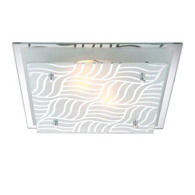 Светильник Globo 48161-2 Marie IКвадратные<br>Настенно-потолочные светильники – это универсальные осветительные варианты, которые подходят для вертикального и горизонтального монтажа. В интернет-магазине «Светодом» Вы можете приобрести подобные модели по выгодной стоимости. В нашем каталоге представлены как бюджетные варианты, так и эксклюзивные изделия от производителей, которые уже давно заслужили доверие дизайнеров и простых покупателей.  Настенно-потолочный светильник Globo 48161-2 станет прекрасным дополнением к основному освещению. Благодаря качественному исполнению и применению современных технологий при производстве эта модель будет радовать Вас своим привлекательным внешним видом долгое время. Приобрести настенно-потолочный светильник Globo 48161-2 можно, находясь в любой точке России.<br><br>S освещ. до, м2: 6<br>Тип лампы: накаливания / энергосбережения / LED-светодиодная<br>Тип цоколя: E27 ILLU<br>Цвет арматуры: серебристый<br>Количество ламп: 2<br>Ширина, мм: 355<br>Длина, мм: 355<br>Высота, мм: 85<br>MAX мощность ламп, Вт: 40