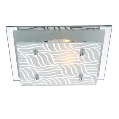 Светильник Globo 48161 Marie IКвадратные<br>Настенно-потолочные светильники – это универсальные осветительные варианты, которые подходят для вертикального и горизонтального монтажа. В интернет-магазине «Светодом» Вы можете приобрести подобные модели по выгодной стоимости. В нашем каталоге представлены как бюджетные варианты, так и эксклюзивные изделия от производителей, которые уже давно заслужили доверие дизайнеров и простых покупателей.  Настенно-потолочный светильник Globo 48161 станет прекрасным дополнением к основному освещению. Благодаря качественному исполнению и применению современных технологий при производстве эта модель будет радовать Вас своим привлекательным внешним видом долгое время. Приобрести настенно-потолочный светильник Globo 48161 можно, находясь в любой точке России.<br><br>S освещ. до, м2: 2<br>Тип лампы: накаливания / энергосбережения / LED-светодиодная<br>Тип цоколя: E27 ILLU<br>Цвет арматуры: серебристый<br>Количество ламп: 1<br>Ширина, мм: 240<br>Длина, мм: 240<br>Высота, мм: 85<br>MAX мощность ламп, Вт: 40