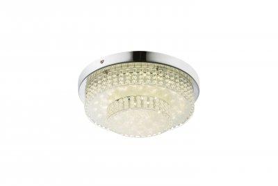Светильник потолочный Globo 48213-16 CAKEОжидается<br><br><br>Цветовая t, К: 4000<br>Тип цоколя: LED<br>Цвет арматуры: серебристый хром<br>Количество ламп: 1<br>Диаметр, мм мм: 280<br>Высота, мм: 90<br>MAX мощность ламп, Вт: 16