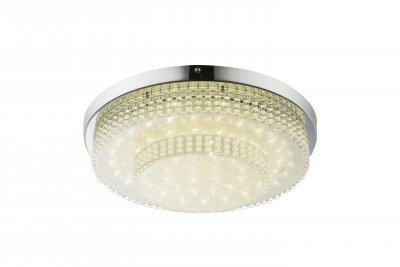 Светильник потолочный Globo 48213-24 CAKEОжидается<br><br><br>Цветовая t, К: 4000<br>Тип цоколя: LED<br>Цвет арматуры: серебристый хром<br>Количество ламп: 1<br>Диаметр, мм мм: 380<br>Высота, мм: 90<br>MAX мощность ламп, Вт: 24