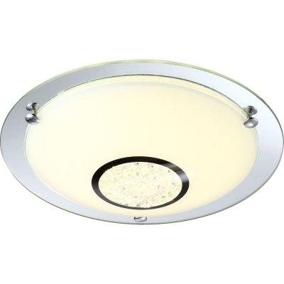 Светильник Globo 48240 AmadaКруглые<br>Настенно-потолочные светильники – это универсальные осветительные варианты, которые подходят для вертикального и горизонтального монтажа. В интернет-магазине «Светодом» Вы можете приобрести подобные модели по выгодной стоимости. В нашем каталоге представлены как бюджетные варианты, так и эксклюзивные изделия от производителей, которые уже давно заслужили доверие дизайнеров и простых покупателей. <br>Настенно-потолочный светильник Globo 48240 станет прекрасным дополнением к основному освещению. Благодаря качественному исполнению и применению современных технологий при производстве эта модель будет радовать Вас своим привлекательным внешним видом долгое время. <br>Приобрести настенно-потолочный светильник Globo 48240 можно, находясь в любой точке России.<br><br>S освещ. до, м2: 5<br>Тип лампы: галогенная / LED-светодиодная<br>Тип цоколя: LED<br>Цвет арматуры: серебристый<br>Количество ламп: 1<br>Ширина, мм: 315<br>Длина, мм: 315<br>Высота, мм: 105<br>MAX мощность ламп, Вт: 12