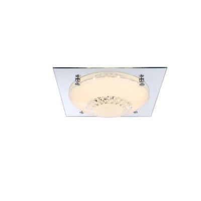 Светильник Globo 48251-12Потолочные<br>Компания «Светодом» предлагает широкий ассортимент люстр от известных производителей. Представленные в нашем каталоге товары выполнены из современных материалов и обладают отличным качеством. Благодаря широкому ассортименту Вы сможете найти у нас люстру под любой интерьер. Мы предлагаем как классические варианты, так и современные модели, отличающиеся лаконичностью и простотой форм.  Стильная люстра Globo 48251-12 станет украшением любого дома. Эта модель от известного производителя не оставит равнодушным ценителей красивых и оригинальных предметов интерьера. Люстра Globo 48251-12 обеспечит равномерное распределение света по всей комнате. При выборе обратите внимание на характеристики, позволяющие приобрести наиболее подходящую модель. Купить понравившуюся люстру по доступной цене Вы можете в интернет-магазине «Светодом».<br><br>Установка на натяжной потолок: Да<br>S освещ. до, м2: 5<br>Крепление: Планка<br>Тип цоколя: LED<br>Цвет арматуры: серебристый<br>Количество ламп: 1<br>Диаметр, мм мм: 315<br>Высота, мм: 85<br>MAX мощность ламп, Вт: 12