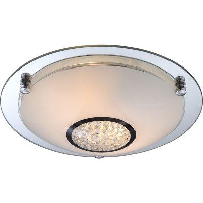 Светильник круглый Globo 48339-2 EderaКруглые<br>Настенно-потолочные светильники – это универсальные осветительные варианты, которые подходят для вертикального и горизонтального монтажа. В интернет-магазине «Светодом» Вы можете приобрести подобные модели по выгодной стоимости. В нашем каталоге представлены как бюджетные варианты, так и эксклюзивные изделия от производителей, которые уже давно заслужили доверие дизайнеров и простых покупателей.  Настенно-потолочный светильник Globo 48339-2 станет прекрасным дополнением к основному освещению. Благодаря качественному исполнению и применению современных технологий при производстве эта модель будет радовать Вас своим привлекательным внешним видом долгое время. Приобрести настенно-потолочный светильник Globo 48339-2 можно, находясь в любой точке России.<br><br>S освещ. до, м2: 8<br>Тип лампы: накаливания / энергосбережения / LED-светодиодная<br>Тип цоколя: E27 ILLU<br>Цвет арматуры: серебристый<br>Количество ламп: 2<br>Ширина, мм: 315<br>Длина, мм: 315<br>Высота, мм: 90<br>MAX мощность ламп, Вт: 60