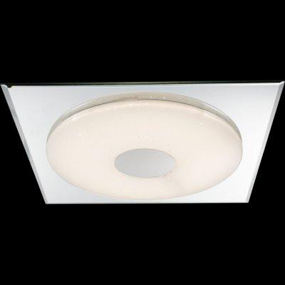 Светильник настенно-потолочный Globo 48355 ATREJUКвадратные<br>Настенно-потолочные светильники – это универсальные осветительные варианты, которые подходят для вертикального и горизонтального монтажа. В интернет-магазине «Светодом» Вы можете приобрести подобные модели по выгодной стоимости. В нашем каталоге представлены как бюджетные варианты, так и эксклюзивные изделия от производителей, которые уже давно заслужили доверие дизайнеров и простых покупателей.  Настенно-потолочный светильник Globo 48355 станет прекрасным дополнением к основному освещению. Благодаря качественному исполнению и применению современных технологий при производстве эта модель будет радовать Вас своим привлекательным внешним видом долгое время. Приобрести настенно-потолочный светильник Globo 48355 можно, находясь в любой точке России.<br><br>S освещ. до, м2: 7<br>Тип цоколя: LED<br>Количество ламп: 1<br>Ширина, мм: 450<br>MAX мощность ламп, Вт: 18<br>Длина, мм: 450<br>Высота, мм: 50<br>Цвет арматуры: серебристый