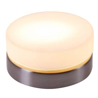 Светильник Globo 48400 OpalКруглые<br>Настенно потолочный светильник Globo (Глобо) 48400 подходит как для установки в вертикальном положении - на стены, так и для установки в горизонтальном - на потолок. Для установки настенно потолочных светильников на натяжной потолок необходимо использовать светодиодные лампы LED, которые экономнее ламп Ильича (накаливания) в 10 раз, выделяют мало тепла и не дадут расплавиться Вашему потолку.<br><br>S освещ. до, м2: 2<br>Тип лампы: галогенная / LED-светодиодная<br>Тип цоколя: G9<br>Количество ламп: 1<br>Ширина, мм: 110<br>MAX мощность ламп, Вт: 25<br>Диаметр, мм мм: 110<br>Высота, мм: 55<br>Цвет арматуры: серый