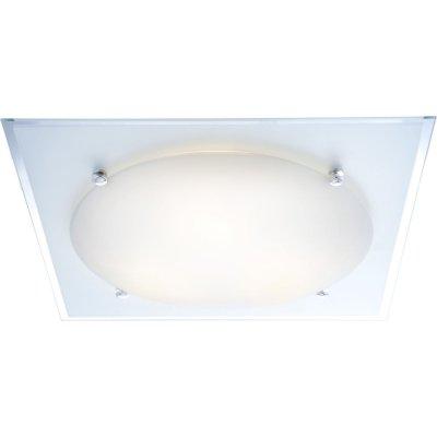Светильник Globo 48513 SpecchioКвадратные<br>Настенно потолочный светильник Globo (Глобо) 48513 подходит как для установки в вертикальном положении - на стены, так и для установки в горизонтальном - на потолок. Для установки настенно потолочных светильников на натяжной потолок необходимо использовать светодиодные лампы LED, которые экономнее ламп Ильича (накаливания) в 10 раз, выделяют мало тепла и не дадут расплавиться Вашему потолку.<br><br>S освещ. до, м2: 12<br>Тип лампы: накаливания / энергосбережения / LED-светодиодная<br>Тип цоколя: E27 ILLU<br>Количество ламп: 3<br>Ширина, мм: 420<br>MAX мощность ламп, Вт: 60<br>Длина, мм: 420<br>Высота, мм: 95<br>Цвет арматуры: серебристый