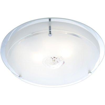 Светильник Globo 48527 MalagaКруглые<br>Настенно потолочный светильник Globo (Глобо) 48527 подходит как для установки в вертикальном положении - на стены, так и для установки в горизонтальном - на потолок. Для установки настенно потолочных светильников на натяжной потолок необходимо использовать светодиодные лампы LED, которые экономнее ламп Ильича (накаливания) в 10 раз, выделяют мало тепла и не дадут расплавиться Вашему потолку.<br><br>S освещ. до, м2: 8<br>Тип товара: Светильник настенно-потолочный<br>Скидка, %: 71<br>Тип лампы: накаливания / энергосбережения / LED-светодиодная<br>Тип цоколя: E27 ILLU<br>Количество ламп: 2<br>MAX мощность ламп, Вт: 60<br>Диаметр, мм мм: 330<br>Высота, мм: 110<br>Цвет арматуры: серебристый