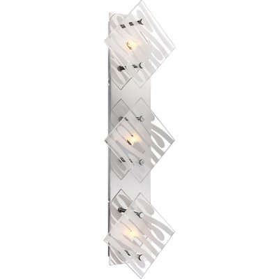 Светильник Globo 48694-3Длинные<br>Настенно-потолочные светильники – это универсальные осветительные варианты, которые подходят для вертикального и горизонтального монтажа. В интернет-магазине «Светодом» Вы можете приобрести подобные модели по выгодной стоимости. В нашем каталоге представлены как бюджетные варианты, так и эксклюзивные изделия от производителей, которые уже давно заслужили доверие дизайнеров и простых покупателей.  Настенно-потолочный светильник Globo 48694-3 станет прекрасным дополнением к основному освещению. Благодаря качественному исполнению и применению современных технологий при производстве эта модель будет радовать Вас своим привлекательным внешним видом долгое время. Приобрести настенно-потолочный светильник Globo 48694-3 можно, находясь в любой точке России.<br><br>S освещ. до, м2: 5<br>Тип цоколя: G9<br>Количество ламп: 3<br>Ширина, мм: 78<br>MAX мощность ламп, Вт: 33<br>Длина, мм: 550<br>Высота, мм: 170<br>Цвет арматуры: серебристый хром