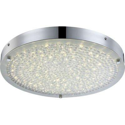 Светильник круглый Globo 49213 Maxime светодиодныйКруглые<br>Настенно-потолочные светильники – это универсальные осветительные варианты, которые подходят для вертикального и горизонтального монтажа. В интернет-магазине «Светодом» Вы можете приобрести подобные модели по выгодной стоимости. В нашем каталоге представлены как бюджетные варианты, так и эксклюзивные изделия от производителей, которые уже давно заслужили доверие дизайнеров и простых покупателей. <br>Настенно-потолочный светильник Globo 49213 станет прекрасным дополнением к основному освещению. Благодаря качественному исполнению и применению современных технологий при производстве эта модель будет радовать Вас своим привлекательным внешним видом долгое время. <br>Приобрести настенно-потолочный светильник Globo 49213 можно, находясь в любой точке России. Компания «Светодом» осуществляет доставку заказов не только по Москве и Екатеринбургу, но и в остальные города.<br><br>S освещ. до, м2: 1<br>Тип лампы: галогенная / LED-светодиодная<br>Тип цоколя: LED<br>Количество ламп: 1<br>Ширина, мм: 400<br>MAX мощность ламп, Вт: 20<br>Длина, мм: 400<br>Высота, мм: 50<br>Цвет арматуры: серебристый