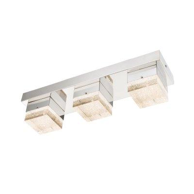 Светильник настенный бра Globo 49222-3 CLUEGOДекоративные<br>Настенно-потолочные светильники – это универсальные осветительные варианты, которые подходят для вертикального и горизонтального монтажа. В интернет-магазине «Светодом» Вы можете приобрести подобные модели по выгодной стоимости. В нашем каталоге представлены как бюджетные варианты, так и эксклюзивные изделия от производителей, которые уже давно заслужили доверие дизайнеров и простых покупателей.  Настенно-потолочный светильник Globo 49222-3 станет прекрасным дополнением к основному освещению. Благодаря качественному исполнению и применению современных технологий при производстве эта модель будет радовать Вас своим привлекательным внешним видом долгое время. Приобрести настенно-потолочный светильник Globo 49222-3 можно, находясь в любой точке России.<br><br>S освещ. до, м2: 7<br>Тип цоколя: LED<br>Количество ламп: 3<br>MAX мощность ламп, Вт: 6<br>Цвет арматуры: серебристый
