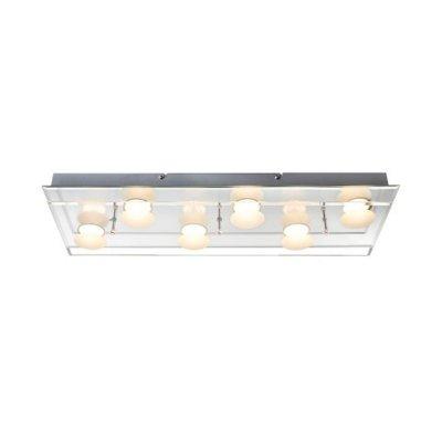 Светильник потолочный Globo 49228-6 ALEXIAДлинные<br>Настенно-потолочные светильники – это универсальные осветительные варианты, которые подходят для вертикального и горизонтального монтажа. В интернет-магазине «Светодом» Вы можете приобрести подобные модели по выгодной стоимости. В нашем каталоге представлены как бюджетные варианты, так и эксклюзивные изделия от производителей, которые уже давно заслужили доверие дизайнеров и простых покупателей.  Настенно-потолочный светильник Globo 49228-6 станет прекрасным дополнением к основному освещению. Благодаря качественному исполнению и применению современных технологий при производстве эта модель будет радовать Вас своим привлекательным внешним видом долгое время. Приобрести настенно-потолочный светильник Globo 49228-6 можно, находясь в любой точке России.<br><br>S освещ. до, м2: 12<br>Тип цоколя: LED<br>Количество ламп: 6<br>MAX мощность ламп, Вт: 5<br>Цвет арматуры: серебристый