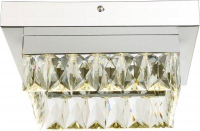 Светильник потолочный Globo 49234-12Потолочные<br><br><br>Установка на натяжной потолок: Да<br>S освещ. до, м2: 5<br>Тип цоколя: LED<br>Ширина, мм: 250<br>Высота, мм: 250<br>Цвет арматуры: хром серебристый