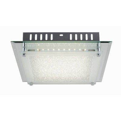 Светильник потолочный Globo 49357-12 AISHAквадратные светильники<br>Настенно-потолочные светильники – это универсальные осветительные варианты, которые подходят для вертикального и горизонтального монтажа. В интернет-магазине «Светодом» Вы можете приобрести подобные модели по выгодной стоимости. В нашем каталоге представлены как бюджетные варианты, так и эксклюзивные изделия от производителей, которые уже давно заслужили доверие дизайнеров и простых покупателей.  Настенно-потолочный светильник Globo 49357-12 станет прекрасным дополнением к основному освещению. Благодаря качественному исполнению и применению современных технологий при производстве эта модель будет радовать Вас своим привлекательным внешним видом долгое время. Приобрести настенно-потолочный светильник Globo 49357-12 можно, находясь в любой точке России.<br><br>S освещ. до, м2: 5<br>Тип цоколя: LED<br>Цвет арматуры: серебристый хром<br>Количество ламп: 1<br>Ширина, мм: 280<br>Длина, мм: 280<br>Высота, мм: 70<br>MAX мощность ламп, Вт: 12