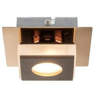 Светильник настенно-потолочный Globo 49403-1Декоративные<br>Настенно-потолочные светильники – это универсальные осветительные варианты, которые подходят для вертикального и горизонтального монтажа. В интернет-магазине «Светодом» Вы можете приобрести подобные модели по выгодной стоимости. В нашем каталоге представлены как бюджетные варианты, так и эксклюзивные изделия от производителей, которые уже давно заслужили доверие дизайнеров и простых покупателей.  Настенно-потолочный светильник Globo 49403-1 станет прекрасным дополнением к основному освещению. Благодаря качественному исполнению и применению современных технологий при производстве эта модель будет радовать Вас своим привлекательным внешним видом долгое время. Приобрести настенно-потолочный светильник Globo 49403-1 можно, находясь в любой точке России.<br><br>S освещ. до, м2: 2<br>Тип цоколя: LED<br>Цвет арматуры: бронзовый<br>Количество ламп: 1<br>MAX мощность ламп, Вт: 5