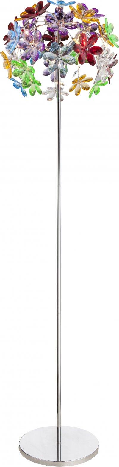 Торшер Globo 51530-3SДекоративные<br><br><br>Тип лампы: Накаливания / энергосбережения / светодиодная<br>Тип цоколя: E14<br>Цвет арматуры: хром серебристый<br>Диаметр, мм мм: 410<br>Высота, мм: 1530