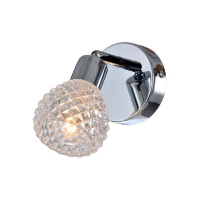 Светильник поворотный спот Globo 541006-1Одиночные<br><br><br>Тип товара: Светильник поворотный спот<br>Скидка, %: 21<br>Тип цоколя: E14<br>Количество ламп: 1<br>Ширина, мм: 170<br>MAX мощность ламп, Вт: 40<br>Высота, мм: 155<br>Цвет арматуры: серебристый