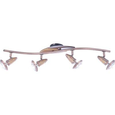 Светильник на 4 лампы Globo 5436-4 LordС 4 лампами<br>Светильники-споты – это оригинальные изделия с современным дизайном. Они позволяют не ограничивать свою фантазию при выборе освещения для интерьера. Такие модели обеспечивают достаточно качественный свет. Благодаря компактным размерам Вы можете использовать несколько спотов для одного помещения. <br>Интернет-магазин «Светодом» предлагает необычный светильник-спот Globo 5436-4 по привлекательной цене. Эта модель станет отличным дополнением к люстре, выполненной в том же стиле. Перед оформлением заказа изучите характеристики изделия. <br>Купить светильник-спот Globo 5436-4 в нашем онлайн-магазине Вы можете либо с помощью формы на сайте, либо по указанным выше телефонам. Обратите внимание, что у нас склады не только в Москве и Екатеринбурге, но и других городах России.<br><br>S освещ. до, м2: 3<br>Тип лампы: накал-я - энергосбер-я<br>Тип цоколя: E14 R50<br>Количество ламп: 4<br>Ширина, мм: 175<br>MAX мощность ламп, Вт: 40<br>Длина, мм: 830<br>Высота, мм: 840<br>Цвет арматуры: серый