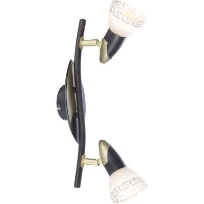 Светильник спот Globo 5449-2 Novaraдвойные светильники споты<br>Светильники-споты – это оригинальные изделия с современным дизайном. Они позволяют не ограничивать свою фантазию при выборе освещения для интерьера. Такие модели обеспечивают достаточно качественный свет. Благодаря компактным размерам Вы можете использовать несколько спотов для одного помещения.  Интернет-магазин «Светодом» предлагает необычный светильник-спот Globo 5449-2 по привлекательной цене. Эта модель станет отличным дополнением к люстре, выполненной в том же стиле. Перед оформлением заказа изучите характеристики изделия.  Купить светильник-спот Globo 5449-2 в нашем онлайн-магазине Вы можете либо с помощью формы на сайте, либо по указанным выше телефонам. Обратите внимание, что у нас склады не только в Москве и Екатеринбурге, но и других городах России.<br><br>S освещ. до, м2: 3<br>Тип лампы: накал-я - энергосбер-я<br>Тип цоколя: E14 R50<br>Цвет арматуры: коричневый<br>Количество ламп: 2<br>Ширина, мм: 175<br>Длина, мм: 385<br>Расстояние от стены, мм: 175<br>Высота, мм: 400<br>MAX мощность ламп, Вт: 40