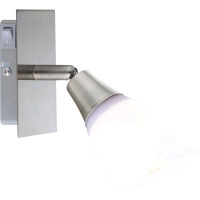 Светильник Globo 5451-1 FrankОдиночные<br>Светильники-споты – это оригинальные изделия с современным дизайном. Они позволяют не ограничивать свою фантазию при выборе освещения для интерьера. Такие модели обеспечивают достаточно качественный свет. Благодаря компактным размерам Вы можете использовать несколько спотов для одного помещения. <br>Интернет-магазин «Светодом» предлагает необычный светильник-спот Globo 5451-1 по привлекательной цене. Эта модель станет отличным дополнением к люстре, выполненной в том же стиле. Перед оформлением заказа изучите характеристики изделия. <br>Купить светильник-спот Globo 5451-1 в нашем онлайн-магазине Вы можете либо с помощью формы на сайте, либо по указанным выше телефонам. Обратите внимание, что у нас склады не только в Москве и Екатеринбурге, но и других городах России.<br><br>S освещ. до, м2: 3<br>Тип лампы: накал-я - энергосбер-я<br>Тип цоколя: E14<br>Цвет арматуры: бронзовый<br>Количество ламп: 1<br>Ширина, мм: 65<br>Длина, мм: 180<br>Высота, мм: 195<br>MAX мощность ламп, Вт: 40