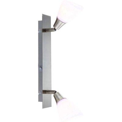 Светильник Globo 5451-2 FrankДвойные<br>Светильники-споты – это оригинальные изделия с современным дизайном. Они позволяют не ограничивать свою фантазию при выборе освещения для интерьера. Такие модели обеспечивают достаточно качественный свет. Благодаря компактным размерам Вы можете использовать несколько спотов для одного помещения. <br>Интернет-магазин «Светодом» предлагает необычный светильник-спот Globo 5451-2 по привлекательной цене. Эта модель станет отличным дополнением к люстре, выполненной в том же стиле. Перед оформлением заказа изучите характеристики изделия. <br>Купить светильник-спот Globo 5451-2 в нашем онлайн-магазине Вы можете либо с помощью формы на сайте, либо по указанным выше телефонам. Обратите внимание, что у нас склады не только в Москве и Екатеринбурге, но и других городах России.<br><br>S освещ. до, м2: 6<br>Тип лампы: накал-я - энергосбер-я<br>Тип цоколя: E14<br>Цвет арматуры: бронзовый<br>Количество ламп: 2<br>Ширина, мм: 65<br>Длина, мм: 350<br>Высота, мм: 180<br>MAX мощность ламп, Вт: 40