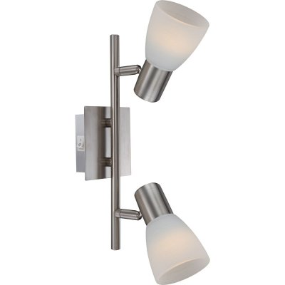 Светильник Globo 54534-2 Parry Iдвойные светильники споты<br>Светильники-споты – это оригинальные изделия с современным дизайном. Они позволяют не ограничивать свою фантазию при выборе освещения для интерьера. Такие модели обеспечивают достаточно качественный свет. Благодаря компактным размерам Вы можете использовать несколько спотов для одного помещения. <br>Интернет-магазин «Светодом» предлагает необычный светильник-спот Globo 54534-2 по привлекательной цене. Эта модель станет отличным дополнением к люстре, выполненной в том же стиле. Перед оформлением заказа изучите характеристики изделия. <br>Купить светильник-спот Globo 54534-2 в нашем онлайн-магазине Вы можете либо с помощью формы на сайте, либо по указанным выше телефонам. Обратите внимание, что у нас склады не только в Москве и Екатеринбурге, но и других городах России.<br><br>S освещ. до, м2: 5<br>Тип лампы: Накаливания / энергосбережения / светодиодная<br>Тип цоколя: E14 LED<br>Цвет арматуры: серебристый<br>Количество ламп: 2<br>Ширина, мм: 100<br>Длина, мм: 300<br>Высота, мм: 100<br>MAX мощность ламп, Вт: 4