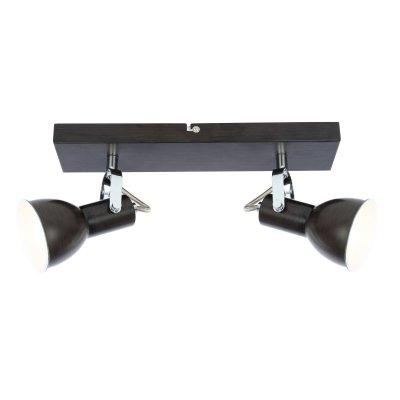 Светильник поворотный спот Globo 54643-2 XENIAДвойные<br>Светильники-споты – это оригинальные изделия с современным дизайном. Они позволяют не ограничивать свою фантазию при выборе освещения для интерьера. Такие модели обеспечивают достаточно качественный свет. Благодаря компактным размерам Вы можете использовать несколько спотов для одного помещения. <br>Интернет-магазин «Светодом» предлагает необычный светильник-спот Globo 54643-2 по привлекательной цене. Эта модель станет отличным дополнением к люстре, выполненной в том же стиле. Перед оформлением заказа изучите характеристики изделия. <br>Купить светильник-спот Globo 54643-2 в нашем онлайн-магазине Вы можете либо с помощью формы на сайте, либо по указанным выше телефонам. Обратите внимание, что у нас склады не только в Москве и Екатеринбурге, но и других городах России.<br><br>Тип цоколя: E14<br>Количество ламп: 2<br>Ширина, мм: 320<br>MAX мощность ламп, Вт: 40<br>Высота, мм: 140<br>Цвет арматуры: черный