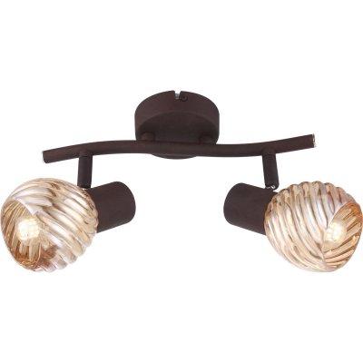 Светильник поворотный спот Globo 54644-2oдвойные светильники споты<br>Светильники-споты – это оригинальные изделия с современным дизайном. Они позволяют не ограничивать свою фантазию при выборе освещения для интерьера. Такие модели обеспечивают достаточно качественный свет. Благодаря компактным размерам Вы можете использовать несколько спотов для одного помещения. <br>Интернет-магазин «Светодом» предлагает необычный светильник-спот Globo 54644-2O по привлекательной цене. Эта модель станет отличным дополнением к люстре, выполненной в том же стиле. Перед оформлением заказа изучите характеристики изделия. <br>Купить светильник-спот Globo 54644-2O в нашем онлайн-магазине Вы можете либо с помощью формы на сайте, либо по указанным выше телефонам. Обратите внимание, что у нас склады не только в Москве и Екатеринбурге, но и других городах России.<br><br>S освещ. до, м2: 4<br>Тип цоколя: E14<br>Цвет арматуры: коричневый<br>Количество ламп: 2<br>Ширина, мм: 250<br>Высота, мм: 180<br>MAX мощность ламп, Вт: 40