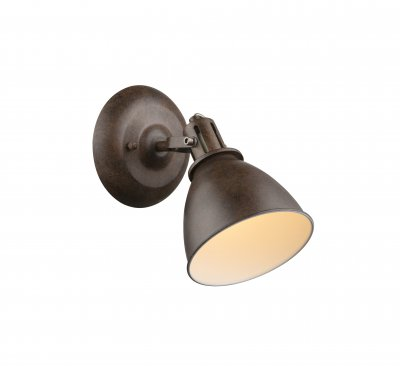Спот Globo 54647-1 GIORGIOОжидается<br><br><br>Тип цоколя: E14<br>Цвет арматуры: ржавчина<br>Количество ламп: 1<br>Ширина, мм: 150<br>Глубина, мм: 220<br>Высота, мм: 220<br>MAX мощность ламп, Вт: 40