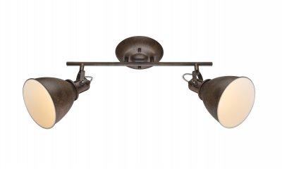 Спот Globo 54647-2 GIORGIOОжидается<br><br><br>Тип цоколя: E14<br>Цвет арматуры: ржавчина<br>Количество ламп: 2<br>Ширина, мм: 450<br>Высота, мм: 280<br>MAX мощность ламп, Вт: 80