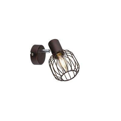 Светильник поворотный спот Globo 54801-1 AKINОдиночные<br>Светильники-споты – это оригинальные изделия с современным дизайном. Они позволяют не ограничивать свою фантазию при выборе освещения для интерьера. Такие модели обеспечивают достаточно качественный свет. Благодаря компактным размерам Вы можете использовать несколько спотов для одного помещения.  Интернет-магазин «Светодом» предлагает необычный светильник-спот Globo 54801-1 по привлекательной цене. Эта модель станет отличным дополнением к люстре, выполненной в том же стиле. Перед оформлением заказа изучите характеристики изделия.  Купить светильник-спот Globo 54801-1 в нашем онлайн-магазине Вы можете либо с помощью формы на сайте, либо по указанным выше телефонам. Обратите внимание, что у нас склады не только в Москве и Екатеринбурге, но и других городах России.<br><br>S освещ. до, м2: 2<br>Тип цоколя: E14<br>Цвет арматуры: коричневый<br>Количество ламп: 1<br>Ширина, мм: 125<br>Высота, мм: 150<br>MAX мощность ламп, Вт: 40