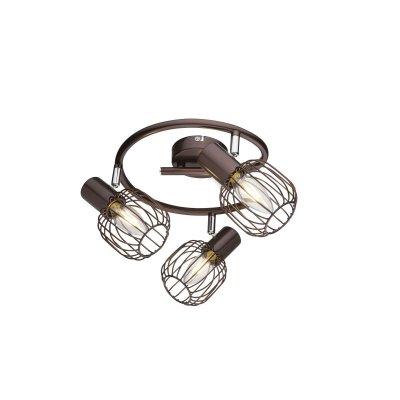 Светильник поворотный спот Globo 54801-3 AKINТройные<br>Светильники-споты – это оригинальные изделия с современным дизайном. Они позволяют не ограничивать свою фантазию при выборе освещения для интерьера. Такие модели обеспечивают достаточно качественный свет. Благодаря компактным размерам Вы можете использовать несколько спотов для одного помещения.  Интернет-магазин «Светодом» предлагает необычный светильник-спот Globo 54801-3 по привлекательной цене. Эта модель станет отличным дополнением к люстре, выполненной в том же стиле. Перед оформлением заказа изучите характеристики изделия.  Купить светильник-спот Globo 54801-3 в нашем онлайн-магазине Вы можете либо с помощью формы на сайте, либо по указанным выше телефонам. Обратите внимание, что у нас склады не только в Москве и Екатеринбурге, но и других городах России.<br><br>S освещ. до, м2: 6<br>Тип цоколя: E14<br>Цвет арматуры: коричневый<br>Количество ламп: 3<br>MAX мощность ламп, Вт: 40