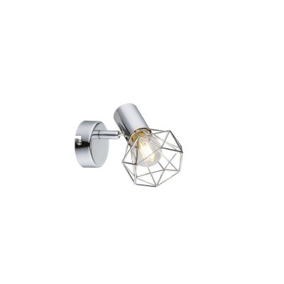 Светильник поворотный спот Globo 54802-1Одиночные<br>Светильники-споты – это оригинальные изделия с современным дизайном. Они позволяют не ограничивать свою фантазию при выборе освещения для интерьера. Такие модели обеспечивают достаточно качественный свет. Благодаря компактным размерам Вы можете использовать несколько спотов для одного помещения.  Интернет-магазин «Светодом» предлагает необычный светильник-спот Globo 54802-1 по привлекательной цене. Эта модель станет отличным дополнением к люстре, выполненной в том же стиле. Перед оформлением заказа изучите характеристики изделия.  Купить светильник-спот Globo 54802-1 в нашем онлайн-магазине Вы можете либо с помощью формы на сайте, либо по указанным выше телефонам. Обратите внимание, что у нас склады не только в Москве и Екатеринбурге, но и других городах России.<br><br>S освещ. до, м2: 2<br>Тип цоколя: E14<br>Цвет арматуры: серебристый<br>Количество ламп: 1<br>Ширина, мм: 125<br>Высота, мм: 120<br>MAX мощность ламп, Вт: 40