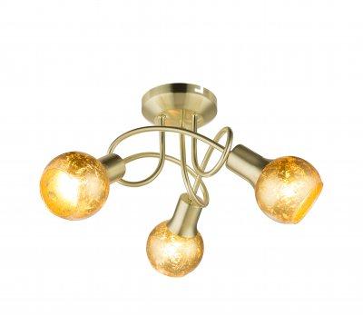 Люстра потолочная Globo 54841-3D TIGREОжидается<br><br><br>Тип цоколя: E14<br>Цвет арматуры: бронзовый<br>Количество ламп: 3<br>Диаметр, мм мм: 370<br>Высота, мм: 190<br>MAX мощность ламп, Вт: 75