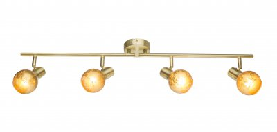Спот Globo 54841-4 TIGREОжидается<br><br><br>Тип цоколя: E14<br>Цвет арматуры: бронзовый<br>Количество ламп: 4<br>Ширина, мм: 790<br>Высота, мм: 155<br>MAX мощность ламп, Вт: 100