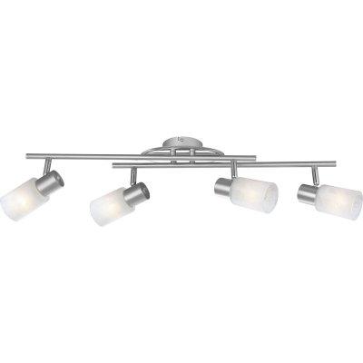 Светильник спот Globo 54913-4 KatiС 4 лампами<br>Светильники-споты – это оригинальные изделия с современным дизайном. Они позволяют не ограничивать свою фантазию при выборе освещения для интерьера. Такие модели обеспечивают достаточно качественный свет. Благодаря компактным размерам Вы можете использовать несколько спотов для одного помещения. <br>Интернет-магазин «Светодом» предлагает необычный светильник-спот Globo 54913-4 по привлекательной цене. Эта модель станет отличным дополнением к люстре, выполненной в том же стиле. Перед оформлением заказа изучите характеристики изделия. <br>Купить светильник-спот Globo 54913-4 в нашем онлайн-магазине Вы можете либо с помощью формы на сайте, либо по указанным выше телефонам. Обратите внимание, что у нас склады не только в Москве и Екатеринбурге, но и других городах России.<br><br>S освещ. до, м2: 10<br>Тип лампы: накал-я - энергосбер-я<br>Тип цоколя: E14<br>Цвет арматуры: серый<br>Количество ламп: 4<br>Длина, мм: 660<br>Высота, мм: 145<br>MAX мощность ламп, Вт: 40