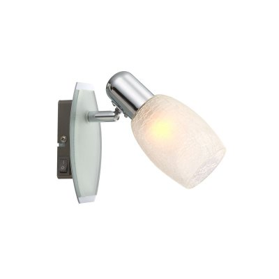 Светильник Globo 54917-1 CycloneОдиночные<br>Светильники-споты – это оригинальные изделия с современным дизайном. Они позволяют не ограничивать свою фантазию при выборе освещения для интерьера. Такие модели обеспечивают достаточно качественный свет. Благодаря компактным размерам Вы можете использовать несколько спотов для одного помещения. <br>Интернет-магазин «Светодом» предлагает необычный светильник-спот Globo 54917-1 по привлекательной цене. Эта модель станет отличным дополнением к люстре, выполненной в том же стиле. Перед оформлением заказа изучите характеристики изделия. <br>Купить светильник-спот Globo 54917-1 в нашем онлайн-магазине Вы можете либо с помощью формы на сайте, либо по указанным выше телефонам. Обратите внимание, что у нас склады не только в Москве и Екатеринбурге, но и других городах России.<br><br>S освещ. до, м2: 2<br>Тип лампы: накал-я - энергосбер-я<br>Тип цоколя: E14<br>Цвет арматуры: серебристый<br>Количество ламп: 1<br>Ширина, мм: 140<br>Высота, мм: 140<br>MAX мощность ламп, Вт: 40