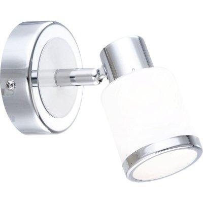 Светильник спот Globo 56030-1 PlatoonОдиночные<br>Светильники-споты – это оригинальные изделия с современным дизайном. Они позволяют не ограничивать свою фантазию при выборе освещения для интерьера. Такие модели обеспечивают достаточно качественный свет. Благодаря компактным размерам Вы можете использовать несколько спотов для одного помещения. <br>Интернет-магазин «Светодом» предлагает необычный светильник-спот Globo 56030-1 по привлекательной цене. Эта модель станет отличным дополнением к люстре, выполненной в том же стиле. Перед оформлением заказа изучите характеристики изделия. <br>Купить светильник-спот Globo 56030-1 в нашем онлайн-магазине Вы можете либо с помощью формы на сайте, либо по указанным выше телефонам. Обратите внимание, что у нас склады не только в Москве и Екатеринбурге, но и других городах России.<br><br>S освещ. до, м2: 2<br>Тип лампы: галогенная / LED-светодиодная<br>Тип цоколя: G9<br>Цвет арматуры: серебристый<br>Количество ламп: 1<br>Ширина, мм: 85<br>Диаметр, мм мм: 85<br>Длина, мм: 113<br>Расстояние от стены, мм: 113<br>Высота, мм: 95<br>Оттенок (цвет): белый<br>MAX мощность ламп, Вт: 33