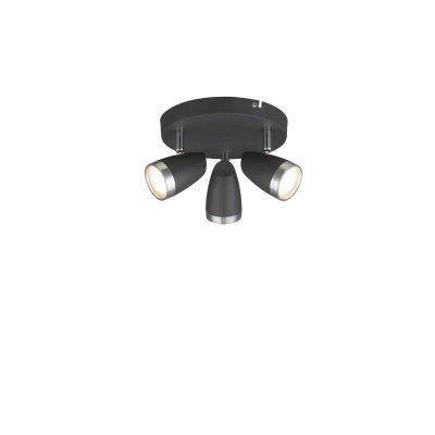 Светильник поворотный спот Globo 56110-3 NEROТройные<br>Светильники-споты – это оригинальные изделия с современным дизайном. Они позволяют не ограничивать свою фантазию при выборе освещения для интерьера. Такие модели обеспечивают достаточно качественный свет. Благодаря компактным размерам Вы можете использовать несколько спотов для одного помещения.  Интернет-магазин «Светодом» предлагает необычный светильник-спот Globo 56110-3 по привлекательной цене. Эта модель станет отличным дополнением к люстре, выполненной в том же стиле. Перед оформлением заказа изучите характеристики изделия.  Купить светильник-спот Globo 56110-3 в нашем онлайн-магазине Вы можете либо с помощью формы на сайте, либо по указанным выше телефонам. Обратите внимание, что мы предлагаем доставку не только по Москве и Екатеринбургу, но и всем остальным российским городам.<br><br>Тип цоколя: LED<br>Количество ламп: 3<br>MAX мощность ламп, Вт: 4<br>Диаметр, мм мм: 190<br>Высота, мм: 135<br>Цвет арматуры: черный